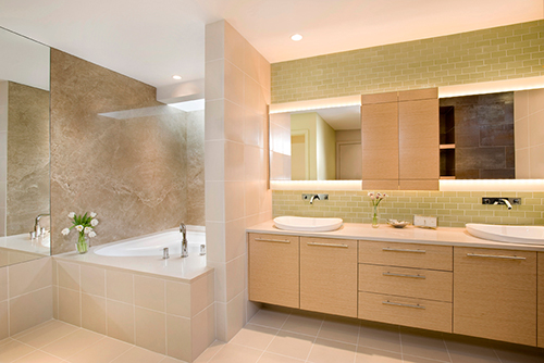 Britton Homes Bathroom Makeover